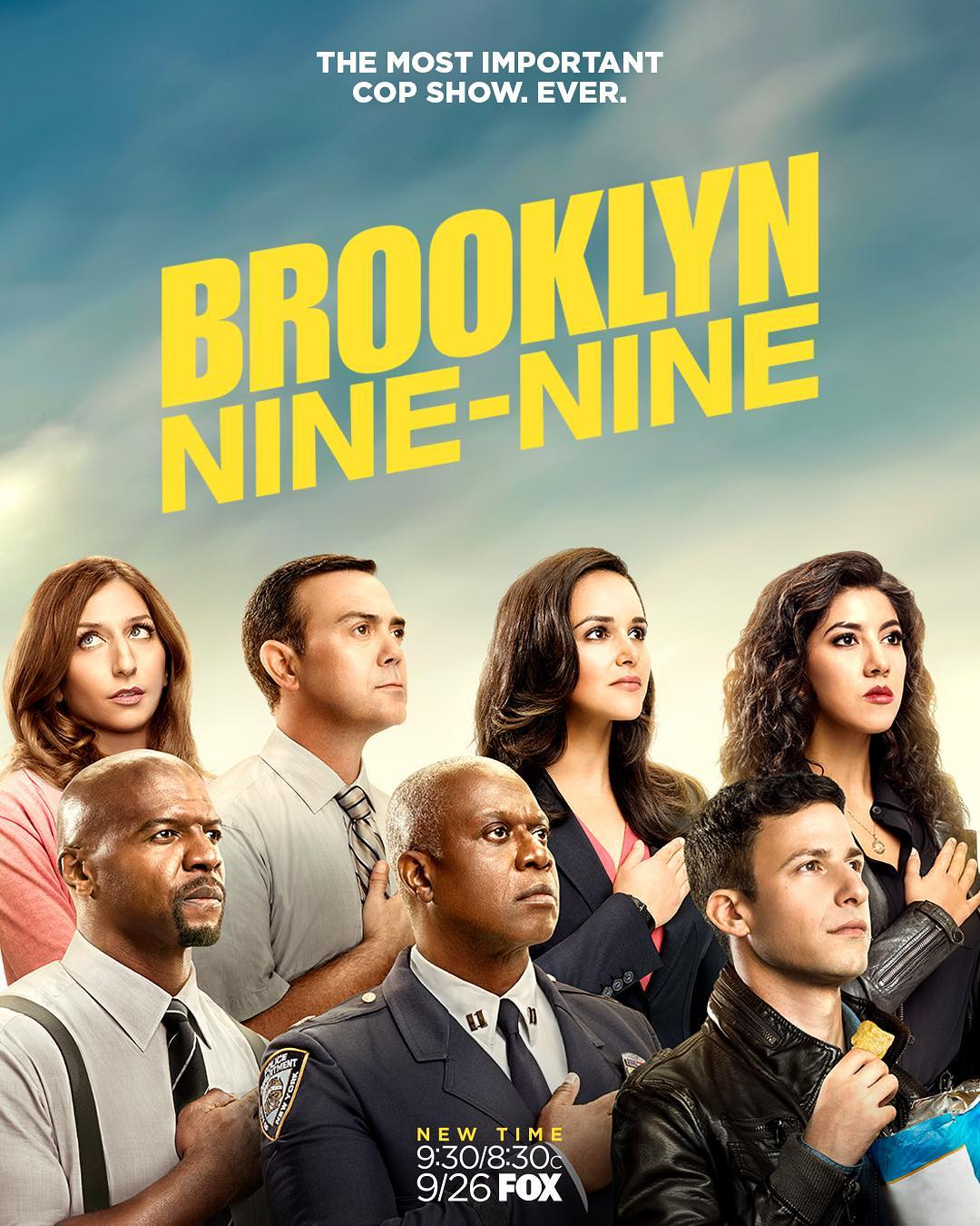 Image result for brooklyn nine nine poster