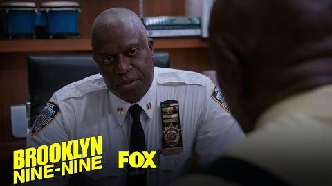 Captain Holt Tells A Dad Joke To Boost Morale At The B9-9 Season 4 Ep