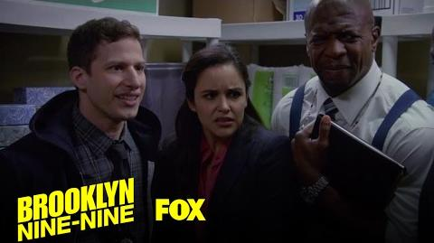 The 9-9 Have An Emergency Meeting In The Closet Season 4 Ep. 13 BROOKLYN NINE-NINE