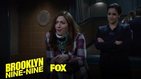 Gina And Amy Interrogate Terry Season 4 Ep. 14 BROOKLYN NINE-NINE