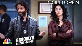 Cold Open Rosa and Pimento Get Engaged - Brooklyn Nine-Nine
