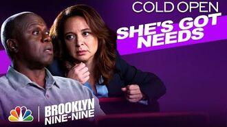 Cold Open Marshal Haas Making Things Awkward - Brooklyn Nine-Nine