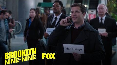 Jake Waits For Amy's Dad At The Airport Season 4 Ep
