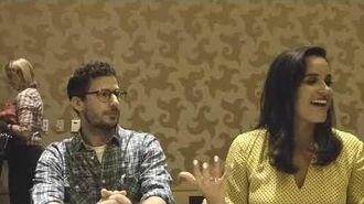 SDCC 2019 Brooklyn Nine-Nine - Andy Samberg (Jake) & Melissa Fumero (Amy)