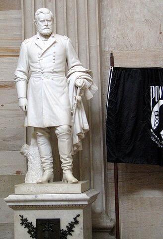 File:President Grant Statue, U.S. Capitol Rotunda..jpg