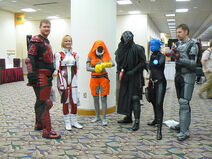 Mass Effect costumes at GenCon
