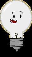 Lightbulb Bright Team Fan pose