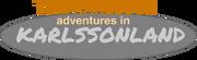 Tom Karlsson Adventures in Karlssonland logo