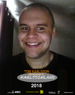 Tom Karlsson Adventures in Karlssonland Poster with SWRS PG Rating