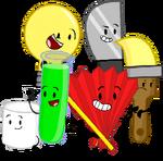 Team Fan main characters 2