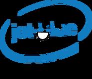 Jet-blue pose