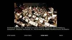 Orchestral Score 01 - Brothers in Arms Theme