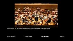 Brothers in Arms Earned in Blood Extras Orchestra Score 09