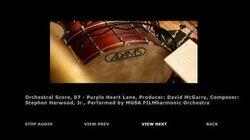 Orchestral Score 07 - Purple Heart Lane