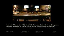 Orchestral Score 10 - Objective XYZ