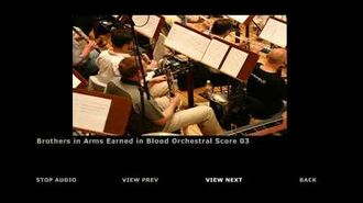 Brothers in Arms Earned in Blood Extras Orchestra Score 03