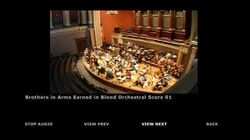 Brothers in Arms Earned in Blood Extras Orchestra Score 01