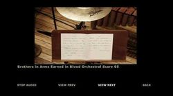 Brothers in Arms Earned in Blood Extras Orchestra Score 05