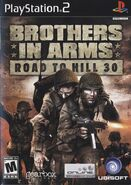 Road to Hill 30 PS2 Cover