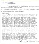Lt.Col. Cole's CMH Citation (3)