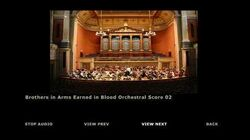 Brothers in Arms Earned in Blood Extras - Orchestra Score 02
