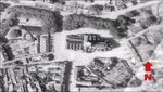 1944 Aerial Reconnissance Photograph of Carentan