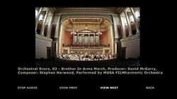 Orchestral Score 02 - Brothers in Arms March