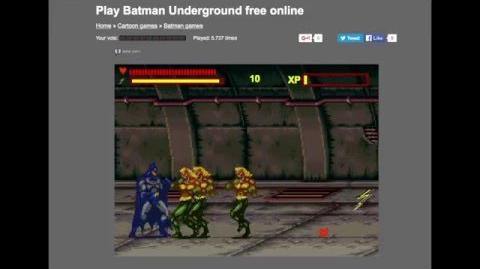 Captainjackster Plays Batman Underground (internet game)