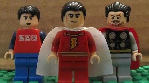 LEGO Worlds Collide Prelude SHAZAM!