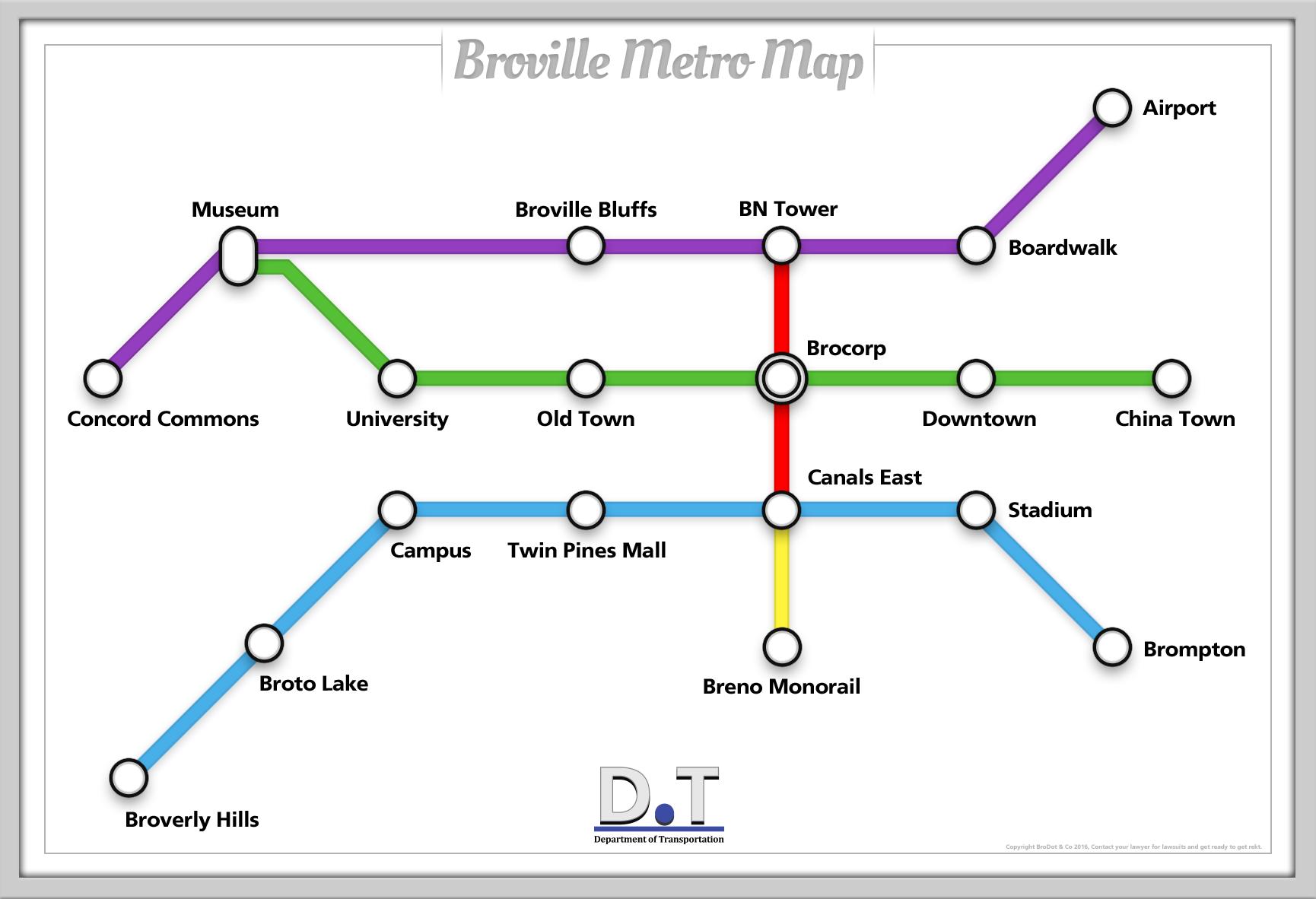 Subway Broville Wiki