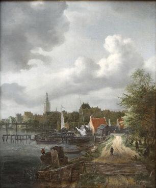 Jacob van Ruisdael Vue d'Amsterdam