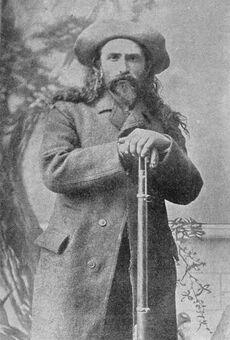 Pierre Le Royer, coureur des bois, en 1889