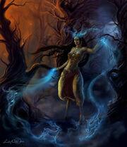 Deer Woman by LadyOwl