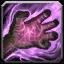 Aura d'ombre à la main
