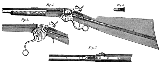 Spencer rifle diagram