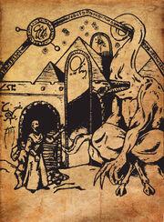 Nyarlathotep grimoire page by azrielmordecai-d5d4rwk