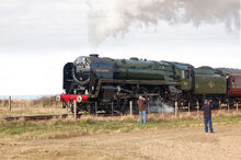 BR Class 7 'Oliver Cromwell'