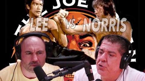 """Joe Rogan & Joey Diaz call """"Bruce Lee vs. Chuck Norris"""" (from Joe Rogan Experience 627)"""