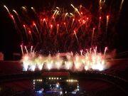 American Land ESB Fireworks Giants 100309