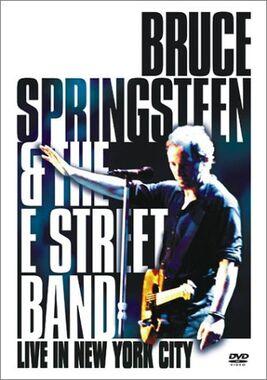 Live in New York City dvd