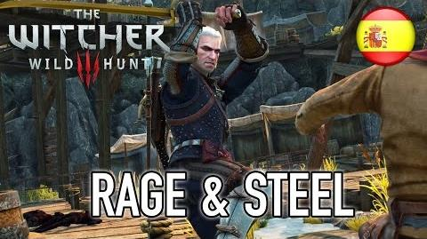 The Witcher 3 Wild Hunt - PS4 XB1 PC - Rage & Steel (Spanish Trailer)