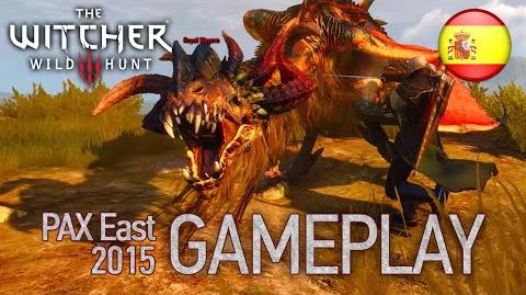 The Witcher 3 Wild Hunt - PS4 XB1 STEAM - Gameplay (PAX East 2015 Spanish Trailer)
