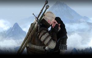 Romance Yennefer y Geralt