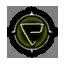 Game Icon Quen symbol unlit