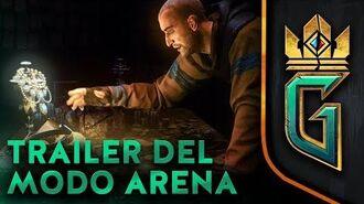 BETA VIDEO GWENT THE WITCHER CARD GAME TRAILER DEL MODO ARENA (Nuevo modo de juego)