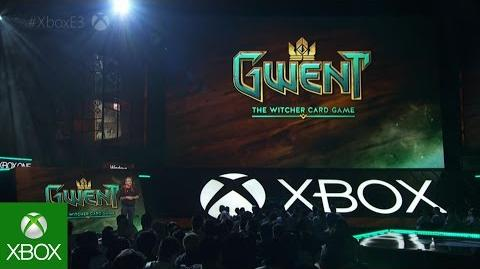 Gwent The Witcher Card Game E3 2016 Xbox Briefing