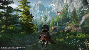 Witcher 3 Switch screen 1