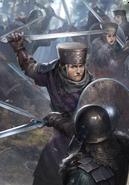 Tw3 cardart skellige clan drummond shieldmaiden 3