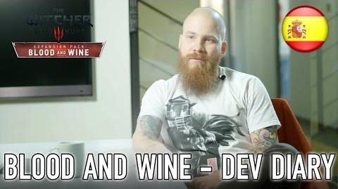 The Witcher 3 Wild Hunt - PS4 XB1 PC - Blood and Wine Developer Diary (Spanish)
