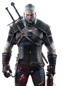 Geralt render portada